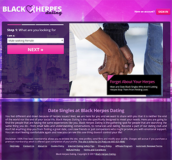 Herpes dating sites for blacks